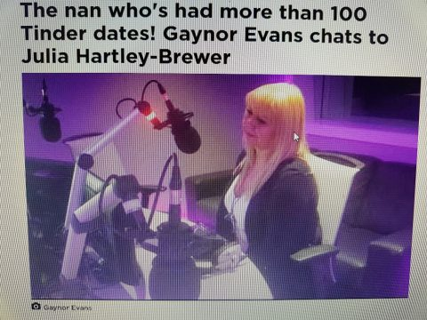 HEAR ME ON BRAND NEW TALK RADIO WITH JULIA -HARTLEY-BREWER