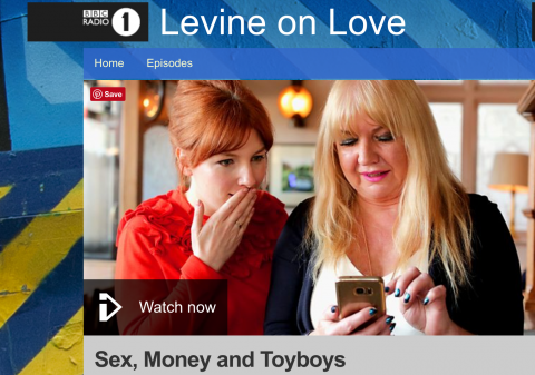 Hear Gaynor on BBC I Player
